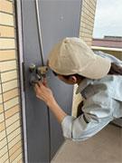ドアの鍵開け