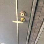 覗き穴から開錠する場合